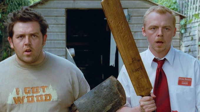 Simon Pegg y Nick Frost recrean una icónica escena de 'Zombies Party' para concienciarnos