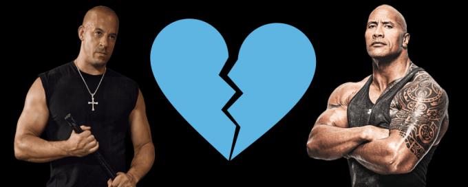 Vin Diesel y The Rock continúan su pelea