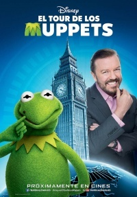 Película Muppets Most Wanted