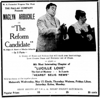 Película The Reform Candidate