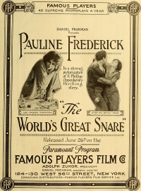 Película The World's Great Snare