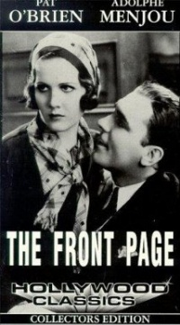 Película The Front Page